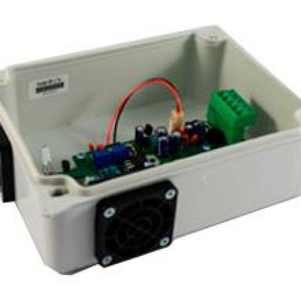 Sensor de temperatura y humedad del aire autoventilada