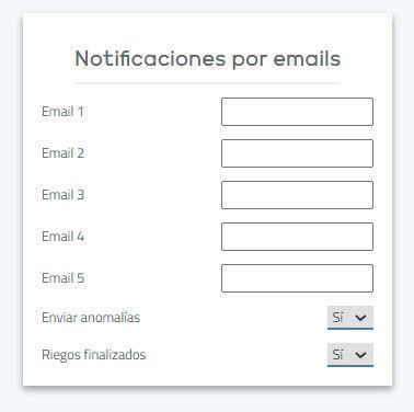 notificaciones email maher app